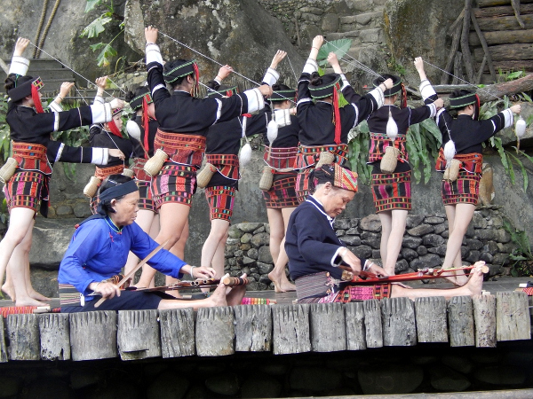 A traditional dance is one of major tourist attractions in China