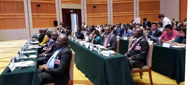 African representatives in the conference