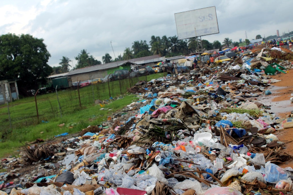 Another view of the dumpsite at Chicken Soup Factory Junction