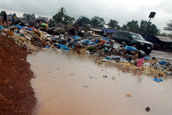 Dumpsite at LPRC Junction, Somalia Drive Gardnerville