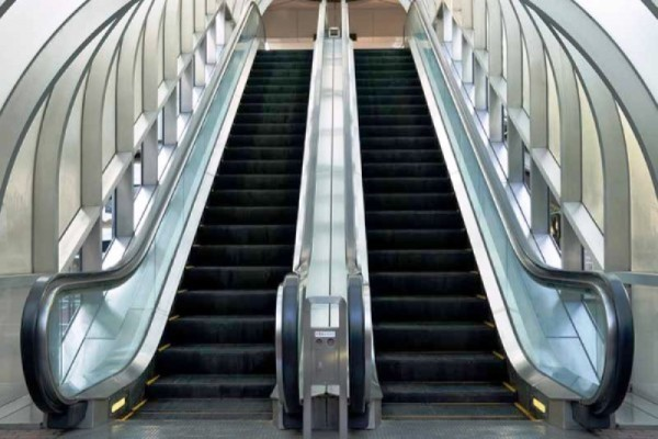 Escalators produced in Jiangsu China