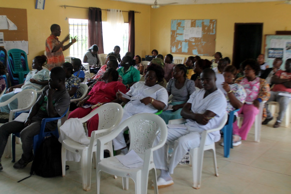 Health Works at the 3-day workshop