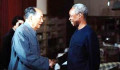 L-R Chairman Mao Zedong and Julius Nyerere, the two leaders shared the philosophy of a communitarian society through socialist ideals