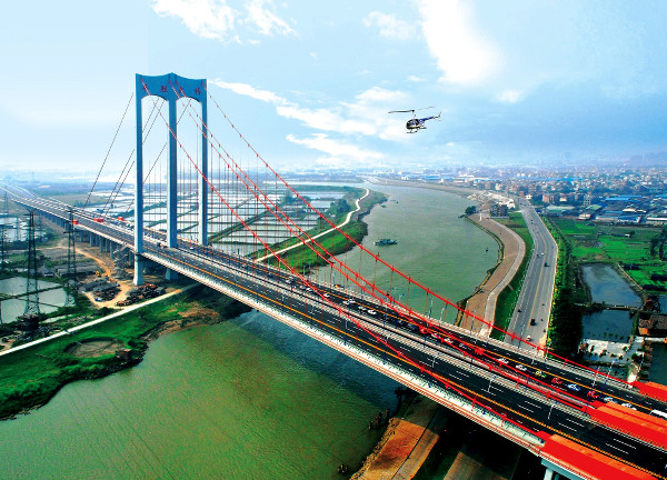 Modern infrastructure which have fast tracked development in China