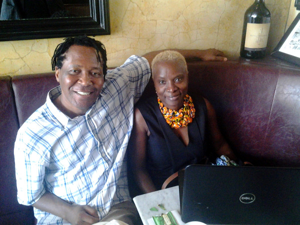 Benin-born, multiple Grammy winner after interview for this story in Proviini Restaurant in Brooklyn, New York