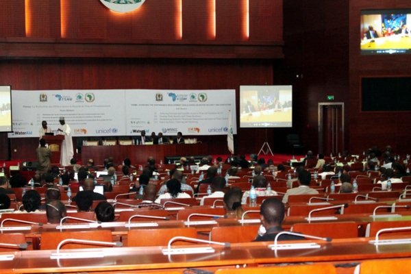 Closing ceremony of the 6th Africa Water Week