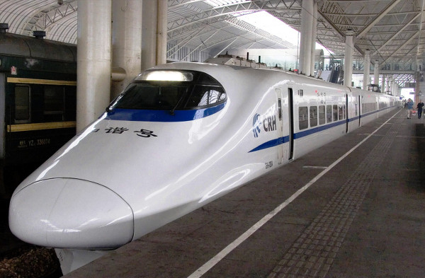 High speed train has changed the pattern of travels in China dramatically (photo courtesy)