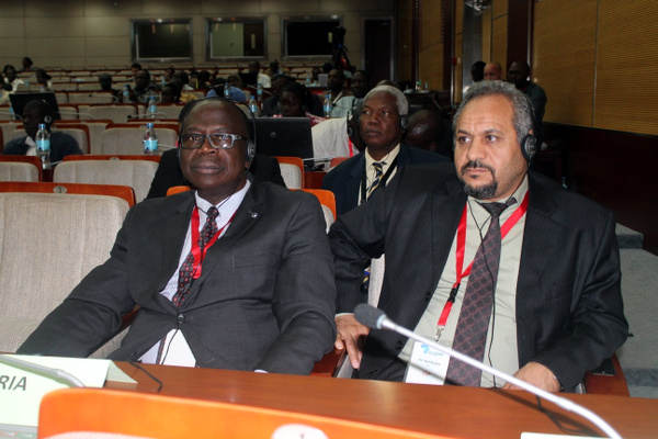 Some of the African Ministers at the closing ceremony of the 6th Africa Water Week