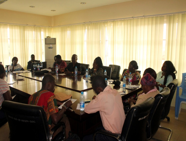 Participants at the One Day Healthy Start Advocacy Engagement at the Health Ministry