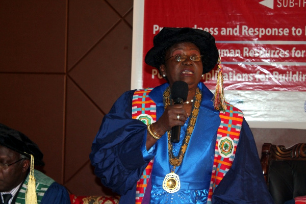 First Female President of the West African College of Physicians, Dr. Ifeoma Egbuonu