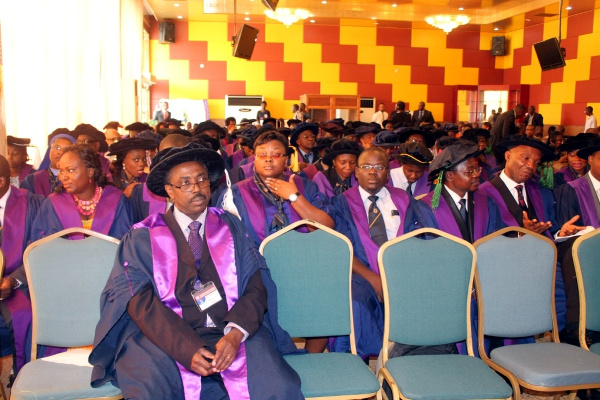 Members of the West African College of Physicians during the opening of the 40th AGSM