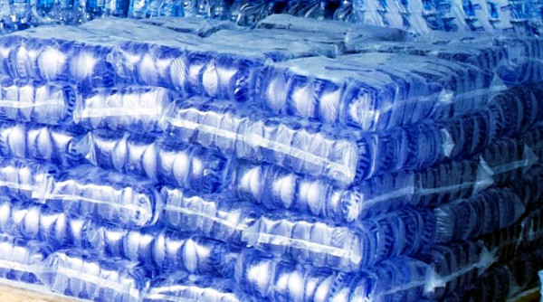 Locally produced mineral water now sold for at least 100 LD on the Liberian market