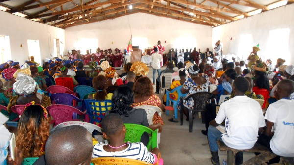 Full view of the Congregation attending the close of the 48th Liberia Annual Conference of the Evangelical Congregational  Church of Liberia (ECCOL)
