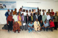 Group photo, Staff and Partners of WaterAid following the launch of the 5-Year Transboundary Strategic Plan