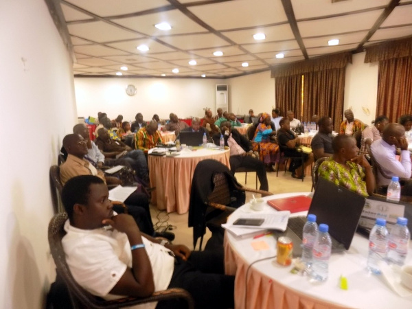 Cross section of participants at the 3-Day Partners Plaining Meeting