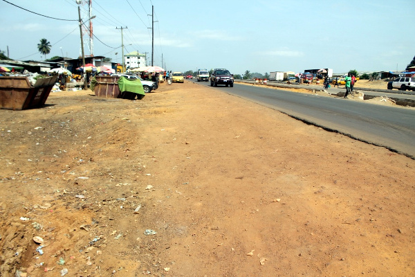After: very clean environment..residents of Jacob Town now relieved of garbage stench