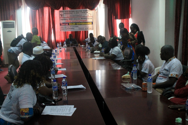 Official launch of the Legislative WASH Advocacy Network, known as Champions of WASH