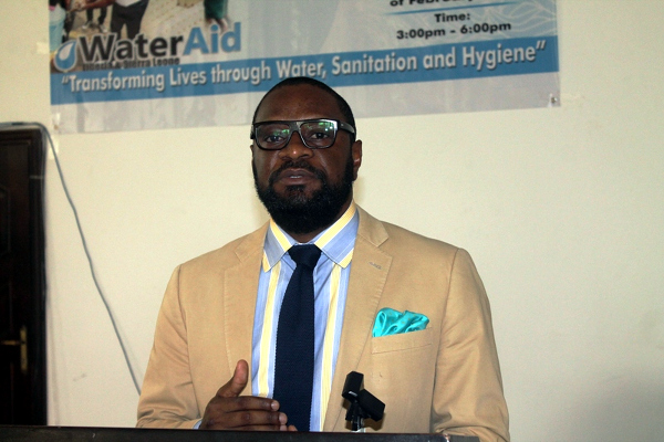 WaterAid Liberia and Sierra Leone Country Director, Patrick Cheah