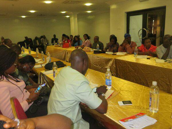 Journalists at the WAEC news briefing