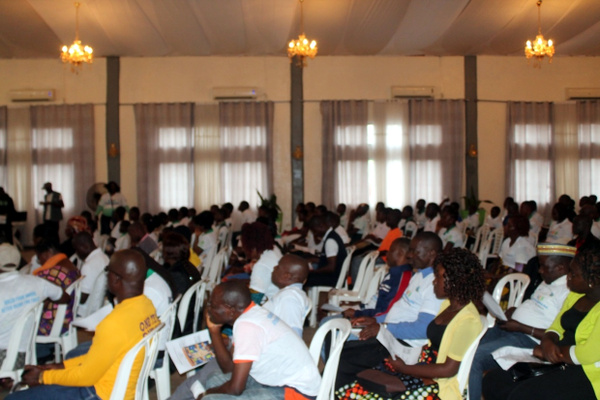 Partial View of participants at the program on Monday October 16