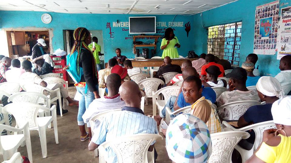 Some Residents of district 14 Montserrado County