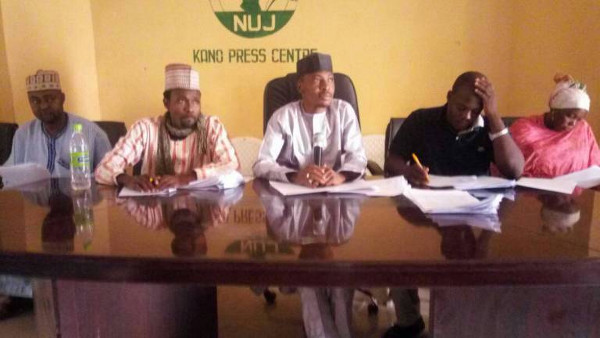 Coalition of Northern Youths at a Press Briefing