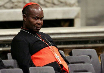 Former Archbishop of Lagos Diocese, Anthony, Cardinal Olubunmi Okogie