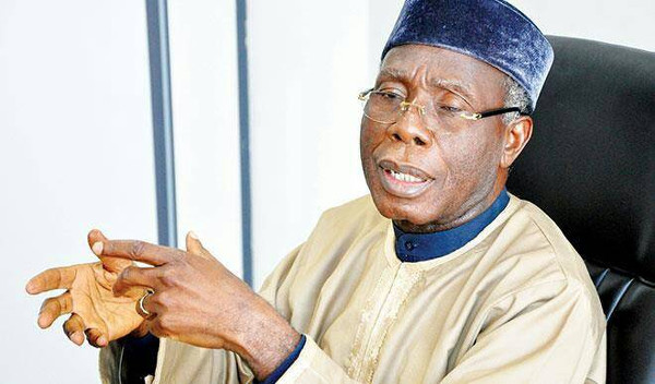 Nigeria's Minister of Agriculture and Rural Development Chief Audu Ogbeh
