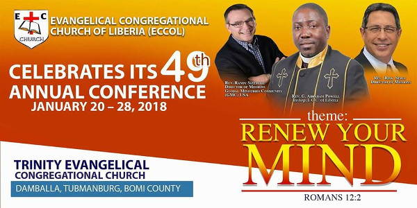 Evangelical Congressional Church of Liberia Ends 49thAnnual Conference